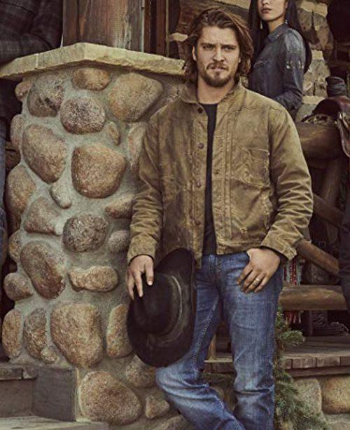 Kayce-Dutton-Yellowstone-Luke-Grimes-Brown-Leather-Jacket