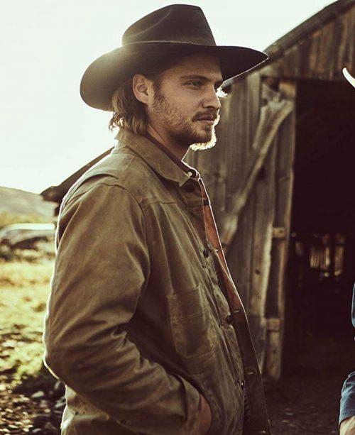 Luke-Grimes-Yellowstone-Leather-Jacket