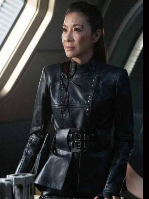Star-Trek-Discovery-Season-03-Michelle-Yeoh-Leather-Jacket
